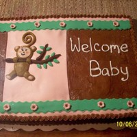 Monkey Baby Shower   I got this design from someone on this site--sorry I can't remember who! TFL