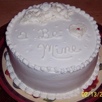 Just White WASC with Buttercream Icing.