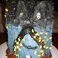 Haunted House Who knew gingerbread could be scary.