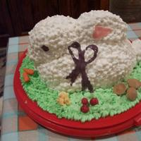Easter Banny Cake