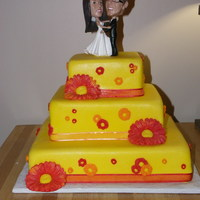 Kevin And Lindsey's Spring Wedding Cake