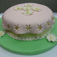 'elly' Fondant with cutout overlay