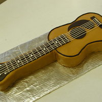 'carlos' Cake I made for a co-worker who plays guitar. My first carved cake. I am still very new at cake decorating but really enjoyed making this...