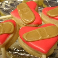 Cardiologists Fix Hearts Cupcake toppers for a cardiologist