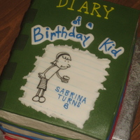 Diary Of A Birthday Kid Cake This idea came from someone else here on cc, so thanks everyone for your inspiration.