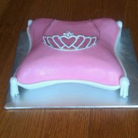 Princess Baby Shower Pillow Cake