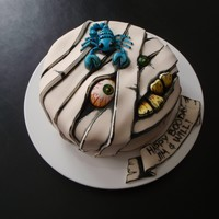 Happy Boo-Day Cake