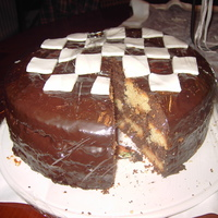 My First Checkerboard Cake