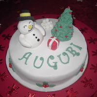A Christmas Cake For My Guests