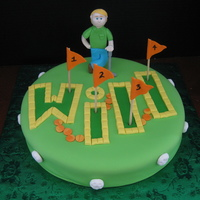 Will's Putt Putt Course This is for my friend's son who loooooves to play putt putt! This is the first fondant figure I'm really proud of. Thanks to all...