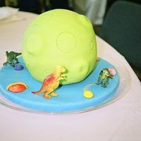Mars! This cake was inspired by Debbie Brown's Cartoon Cakes and was created for my son's 11th birthday (who loves both astronomy and...