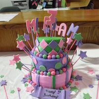 Topsy Turvy This is my first attempt at a topsy turvy cake. I made it for a co-worker's daughter. It was fun to make. Next time I would like to...