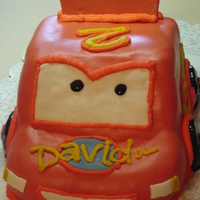 David's Car This is a cars cake made for david's 2nd bday