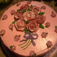 My Cutie i made this cake for a frien for her birthday but i think it will look good on mothers day to