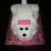 Puppy Birthday Cake   This was so much fun! Loved how the puppy turned out!