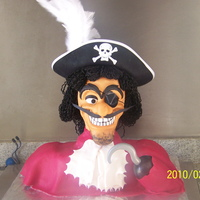 A Real 3D Captain Hook This Hook was for a friends boy who turned 3. I was looking on the net for a picture of a 3D Hook, and couldnt find one. I decided to use...
