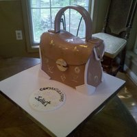 Louis Vuitton Purse Birthday Cake I did for a client back in the Fall. My favorite so far.