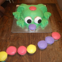 Zuma Cake  Husband's birthday cake. Loves (aka...addicted to) Zuma. If you don't know the game then you REALLY won't get this cake....