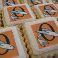 Swim Team Cookies Made for the seniors of the swim team. This logo has been with the pool for over 50 years.