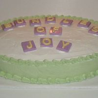 Bundles Of Joy Baby Shower Cake This is a simple cake I made for a baby shower at my daughter's school. I made a lot for them last year and wanted them each to be...