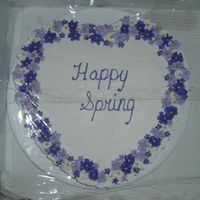 Spring_Heart_Cake_April_05_-_T.jpg I made this to try out a new cake an icing on friends at my former work place. They're my more than willing guinea pigs. It's...