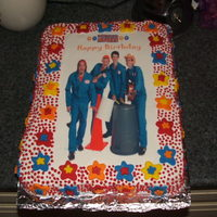 Imagination Movers Cake I couldn't find an Imagination Mover's cake anywhere. I bought the edible image online and made my own design.