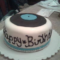 Record Birthday Cake