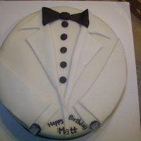 Birthday White Tux