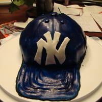 New York Yankee's Hat This was for my son in law