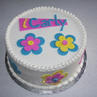 I Carly-Ish simple yet fun I-Carly inspired cake for a 9 year old girl