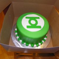 Green Lantern Cake   All MMF