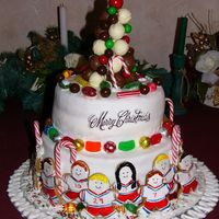 Hockey Team Christmas Cake