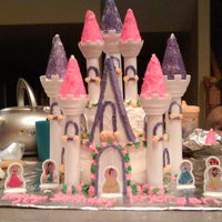 Princess Castle Cake   Thanks for looking!