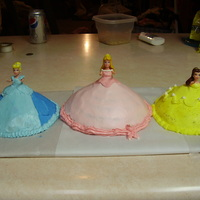 Mini Princesses   Polly pocket size princesses for a customers daughter's birthday