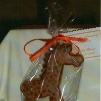 Baby Shower   Baby giraffe for a baby shower