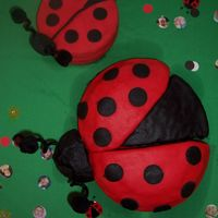 Ladybug Cake this cake was made for my daughters first birthday party.