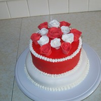 V-Day Cake My valentines day cake entry