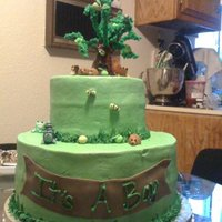 Forest Critters I made this cake for my best friends baby shower, I was inspired by Debbie Browns Forest Tree, so I adapted my own version of it to fit my...