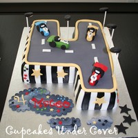 Car Inspired Theme Cake My now 4 year old loves street lights, yup you heard me street lights. He's completely fascinated with them. Whenever we head out with...