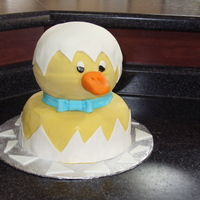 Duck This cake was inspired by RiLinNa's duck cake.
