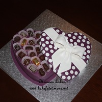 Chocolate Box Cake / Konfekteske Kake