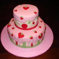 Strawberry Shortcake This was done for a friend who was throwing her 3 yr. old daughter a Strawberry Shortcake themed birthday party. She found inspiration from...
