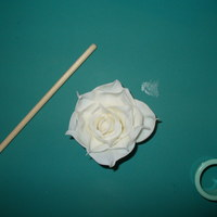 My First Gumpaste Rose