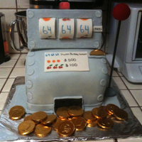 Happy Birthday Jackpot I wanted to make something special for my brother's surprise birthday party. This was my first attempt of making anything other than a...