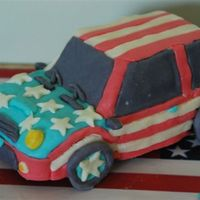 4Th Of July Mini Cooper I drove for the first time the other day and so I just had to make a car cake. I love Mini Coopers (my name is Cooper) and have always...