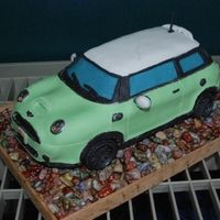 Mini Cooper S I made an American mini cooper cake last year for the fourth of July and decided to make another mini cooper this year to see how much I...