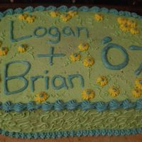 High School Graduation Cake I made this cake for the graduation of my brother and his friend. It is a triple layer chocolate cake with raspberry filling and...