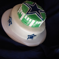 Dallas Fan   this is was made by me and my partner for my dad 63rd birthday.. HUGE HUGE Dallas fan