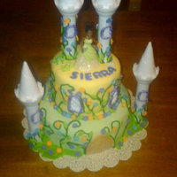 Princess And The Frog  this cake was made for a little girl turning 4i took this picture with my phone so it's a little hard to see the true colors. but take...