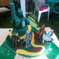 The Wizard Of Oz Cake!